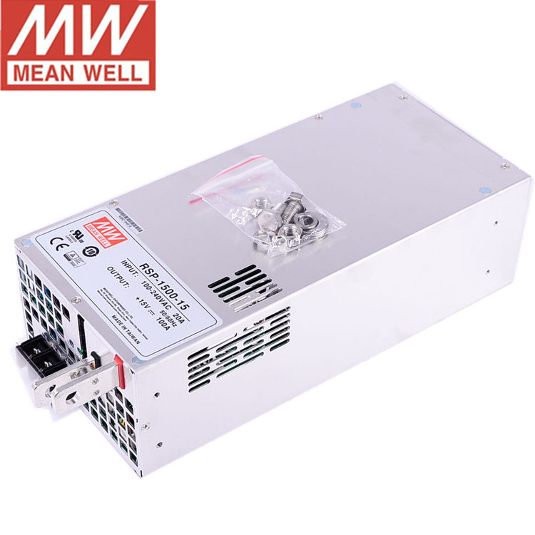 RSP-1500-15 Meanwell Phổ 15V 100A 1500W Cung Cấp Điện