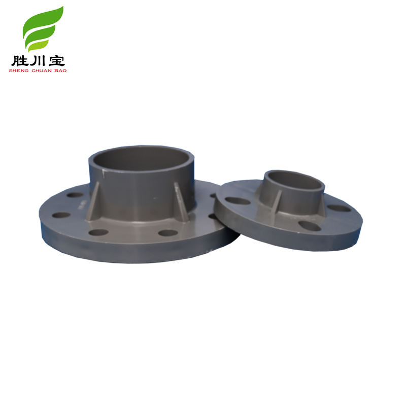 Shengchuanbao Factory Hot Sales flange pvc flange types pvc flange pvc pipe fittings best price 200mm