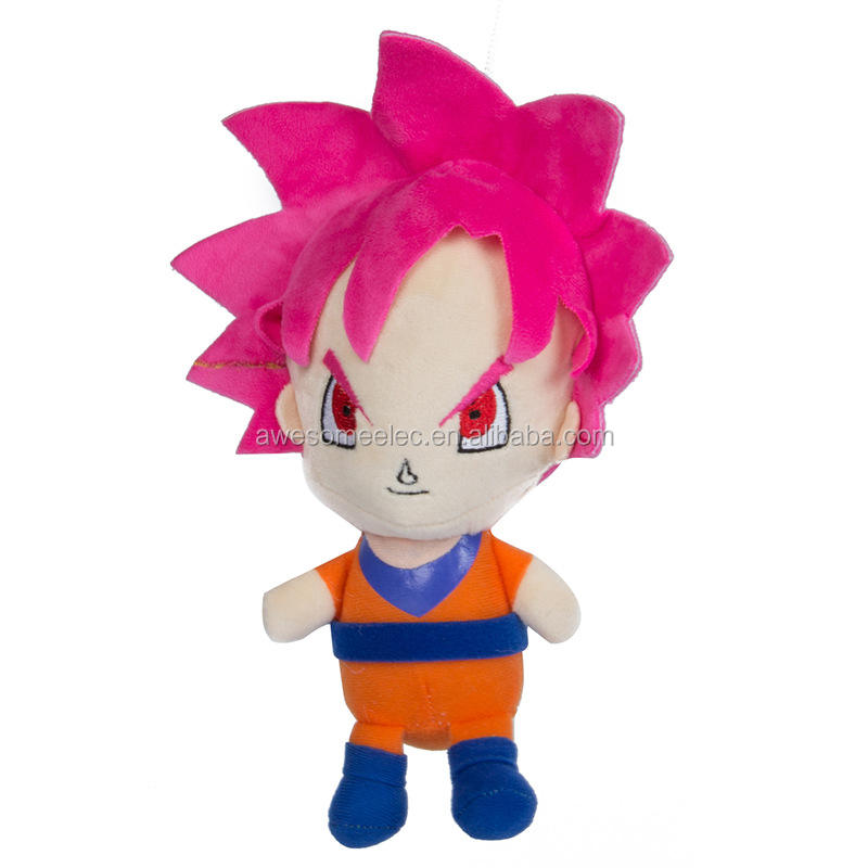 (Groothandel) Dragon Ball z knuffel, Goku gevulde pluche pop, Cartoon dier knuffel