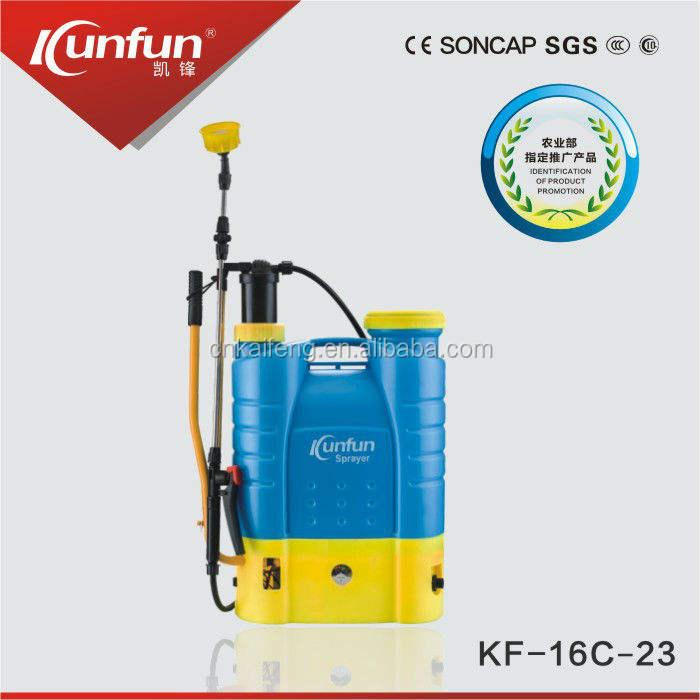 Chinê<span class=keywords><strong>s</strong></span> fábrica profissional 16L mochila pulverizador eletrostático