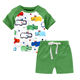 summer wholesale children's boutique clothing outfits cute baby bodysuit baby boy set