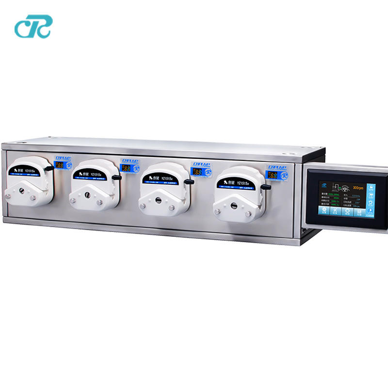 CR small bottle filling machine filling peristaltic pump system