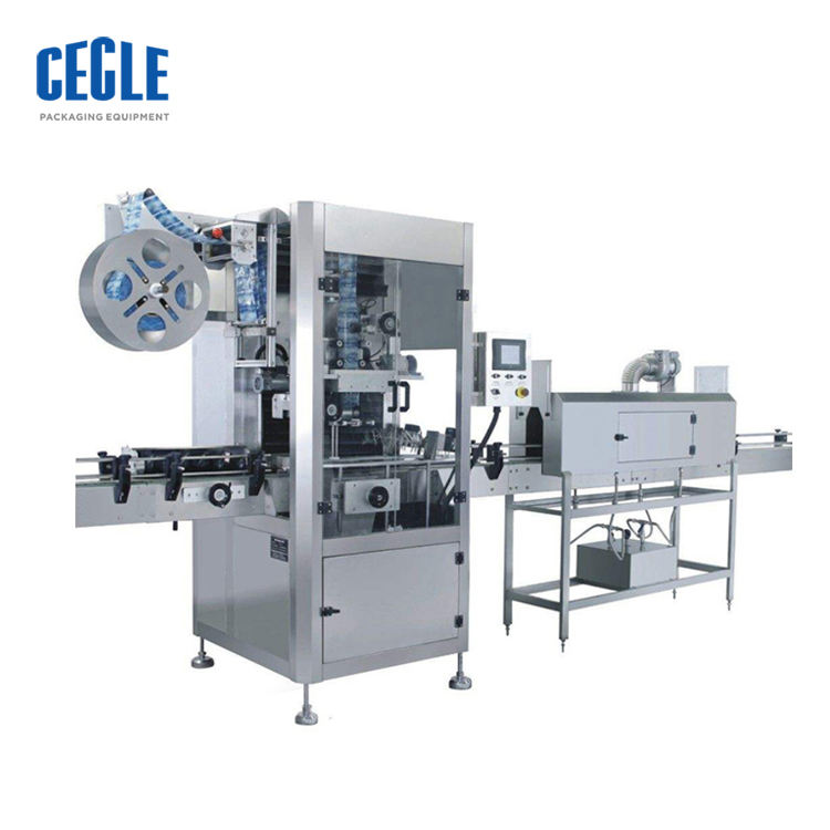 High Speed Automatic Bottle Cap And Bottle Body Shrink Sleeve Labeling Machine, Bottle Cap Shrink Wrap Machine