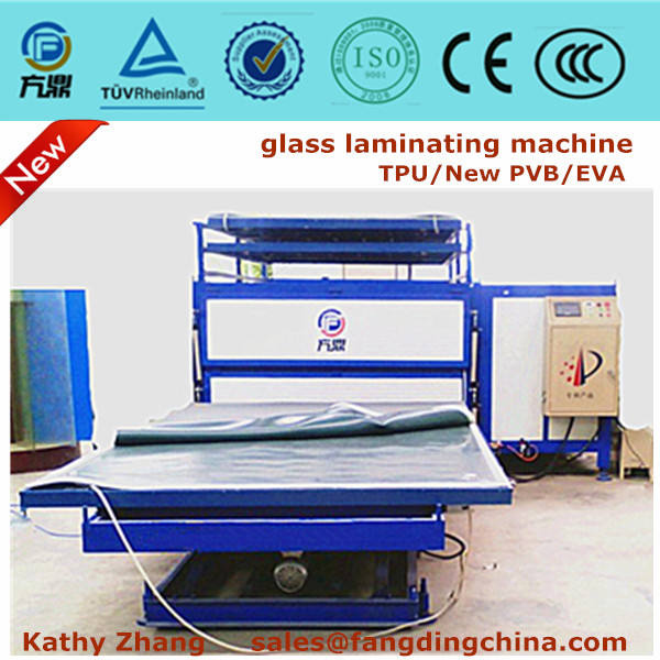 CE autoclave free tempered curved laminated glass furnace