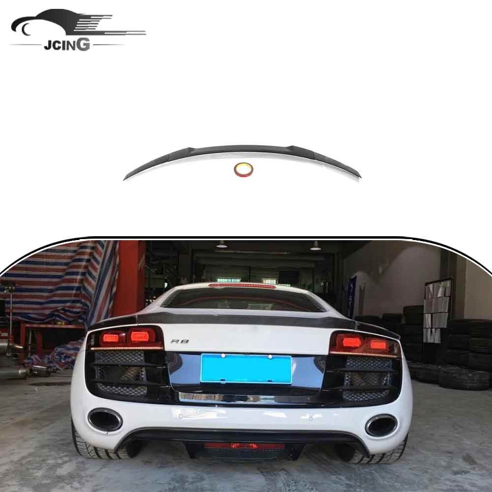 Carbon Fiber Rear Trunk Spoiler for Audi R8 GT V8 V10 2008 - 2014