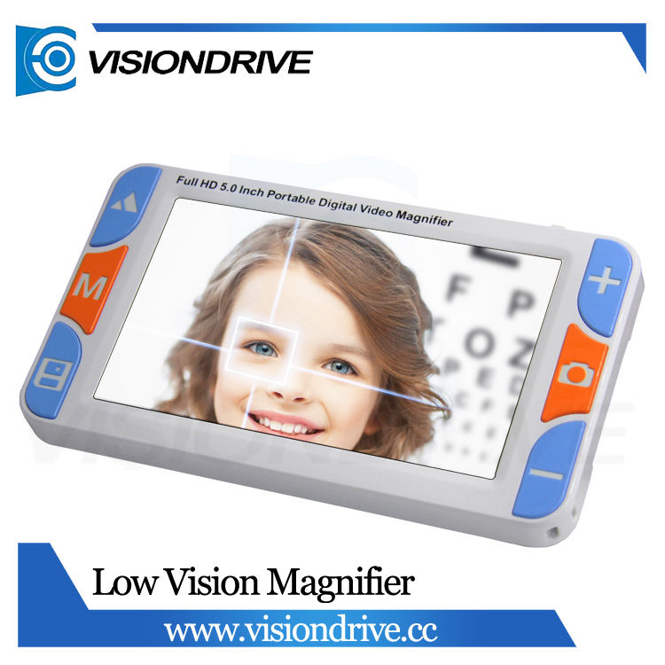 VD-600 3.0MP 5.0 inch 3x to 48x zoom Reading Low vision aid for reading with 26 color modes