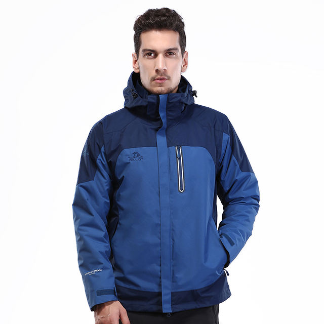 2020 new best arrival high quality 3 in 1 outdoor jacket men waterproof and wind breaker