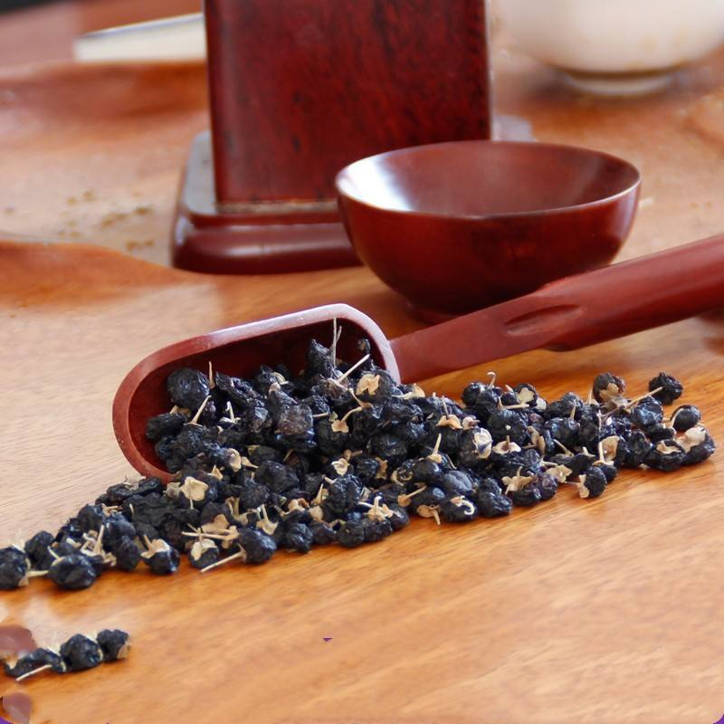 100% natural chinese black wolfberry powder Freeze dried black wolfberry