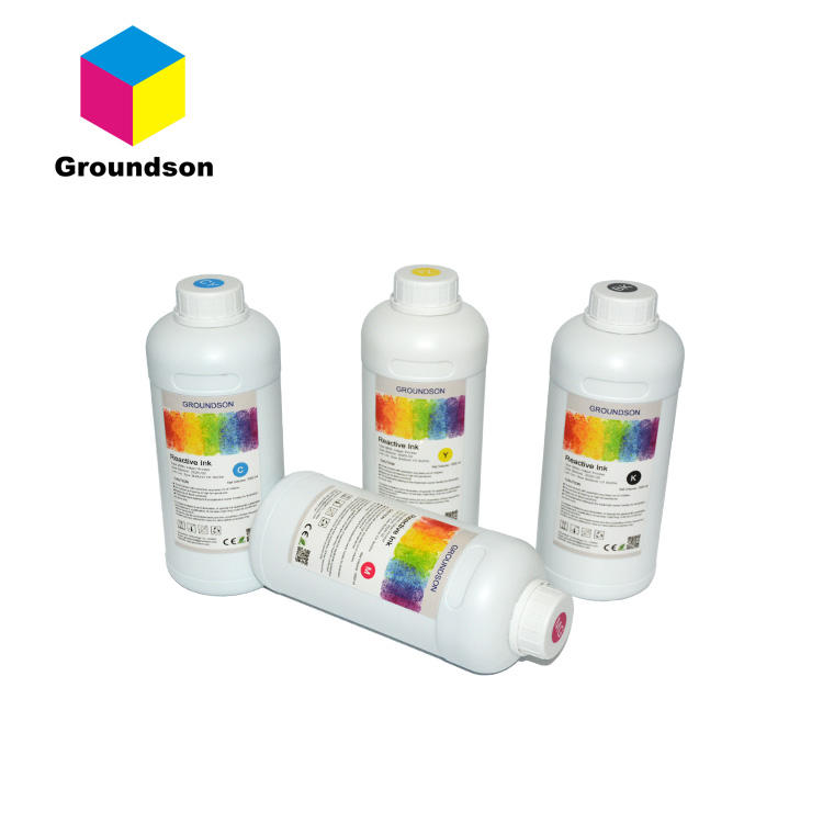 Factory direct supply reactive dye ink better than ink mate for digital textile printing