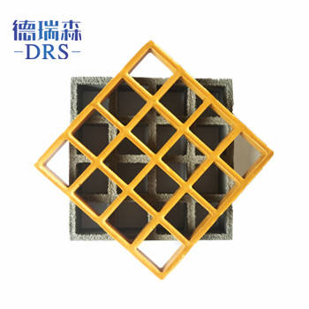Frp grating manufacture molded fiber glass frp grid for construction