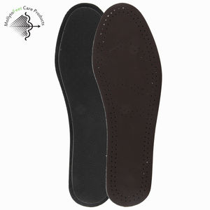 hot selling wholesale footwear cowskin latex material breathable deodorant medical foot care shoe insoles for sport shoe