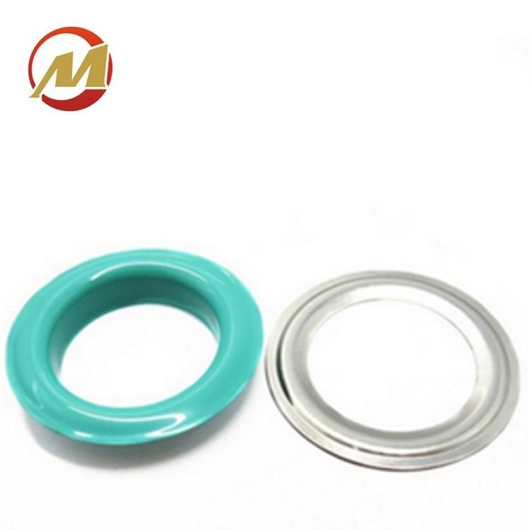 40mm Brass Colorful Metal Eyelet Rings
