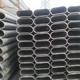 Furniture iron tube pre galvanized oval shaped carbon steel pipe