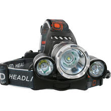 2019 Aluminum 3000 Lumens High Power T6 Head Lamp,10w Rechargeable Waterproof Led Headlamp with 4 Modes