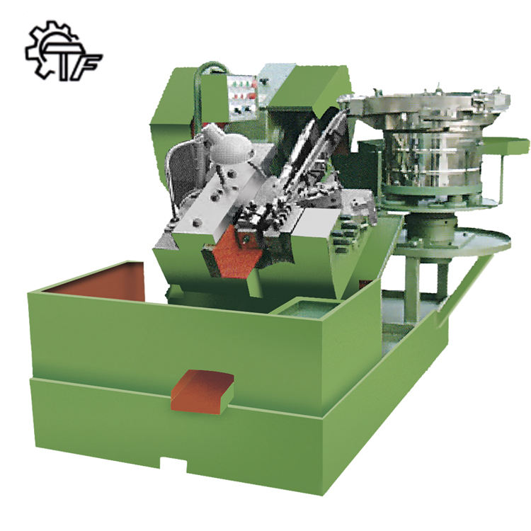 Automatic And High Speed Standard Drywall Screw Bolt Thread Rolling Machine