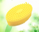 products dongguan gift silicone bath brush skin message health care shower bathroom product shampoo brush gentle cleaning brush