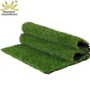 Green natural garden fake artificial grass carpet for balcony