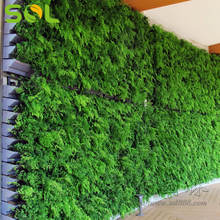 Outdoor Decor Garden Vertical Garden Living Green Wall System Hanging Plastic Pots For Plants  For Vertical Garden