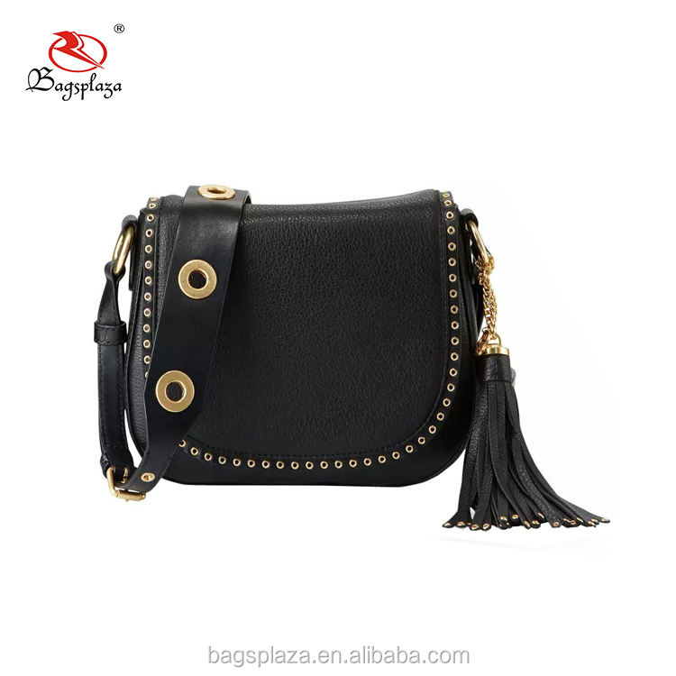 CL15-045 occidental estilo caliente ojal crossbody bolsa mujeres borla embrague bolsas