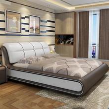 dongguan romantic royal black and white lift up storage leather king bed for marriage