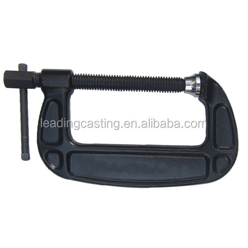OEM customize malleable iron die casting quick release wood work piece assemble fixing frame clamp