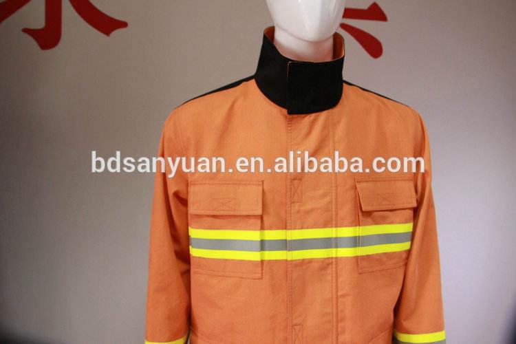 A <span class=keywords><strong>direct</strong></span> fabricant supply précision uniformes de pompiers résistant au feu vêtements