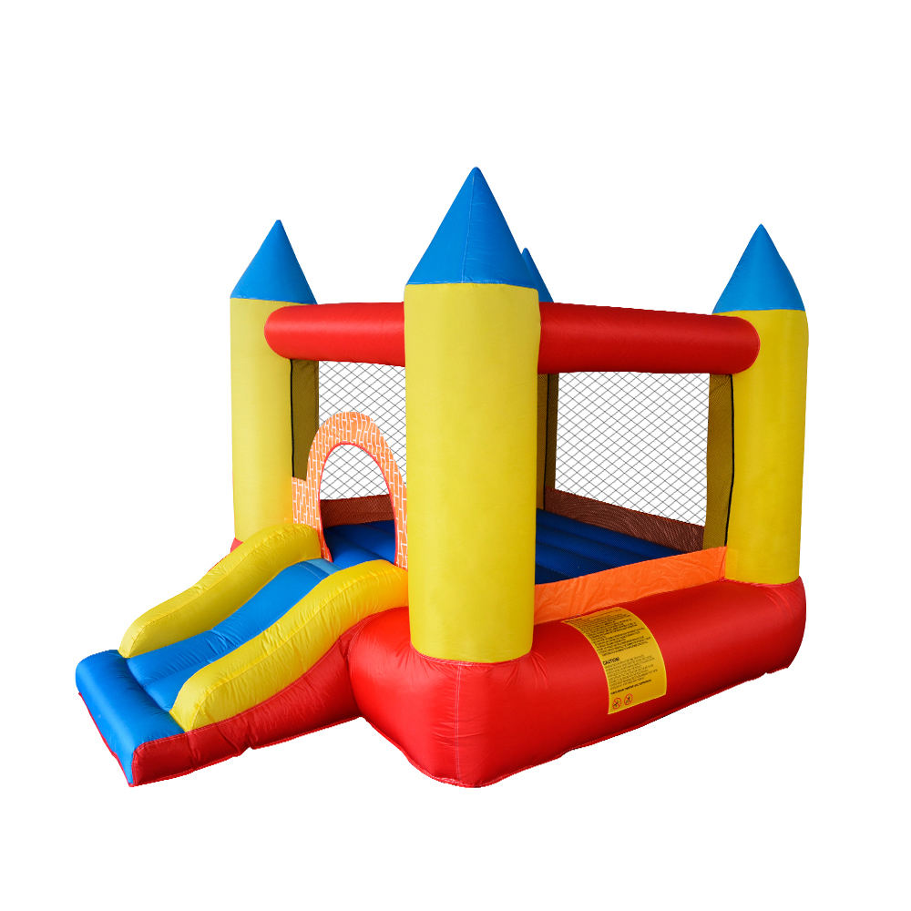 New Nylon Jumping Children Inflatable Moon Bounce House Toy Castle For Boys
