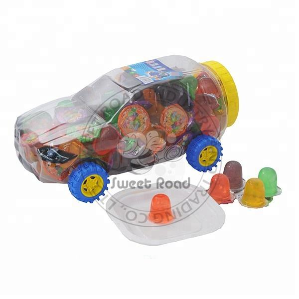 Jelly Pudding Fruity Cup in Car Jar