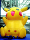 giant inflatable advertising pikachu cartoon for sale