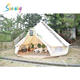 Hot Sale Large Waterproof Canvas Camping 3m 5m 6m 4m Bell Tents