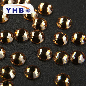 YHB New Arrival SS16 Flat Back Non-hotfix Rhinestones with Hign Quality