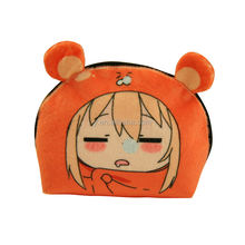 anime coin purse with zipper key bag polyester wallet gift coin pouch