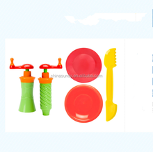 2019 newest Intelligent DIY kids Modeling clay play dough tool set kids tool set