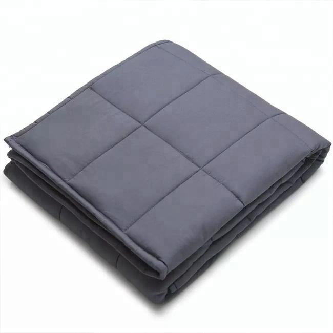 2020 YNM Zonli New Korean Minky Dot Adult gravity Weighted Blanket