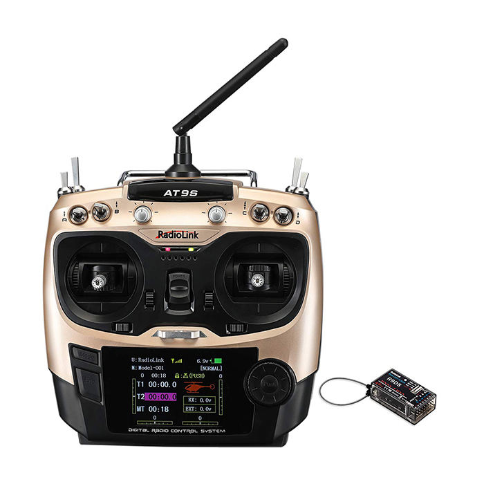QA021 Radiolink AT9S 10CH Full Function Remote Control RC Radio Transmitter Receiver