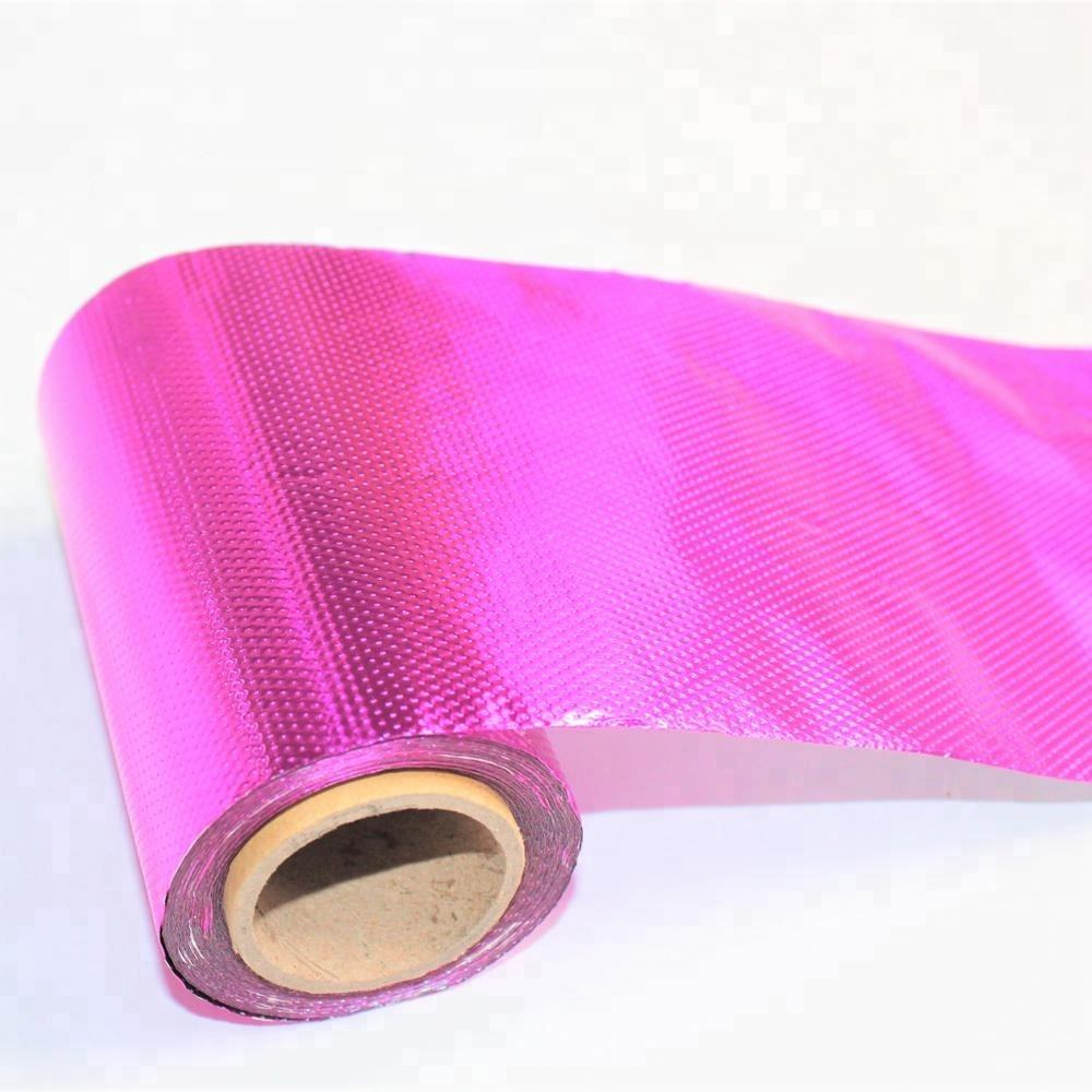 hairdressing 127mm x 76.2m / 5inch x 250 feet embossed and colored hair roll foil
