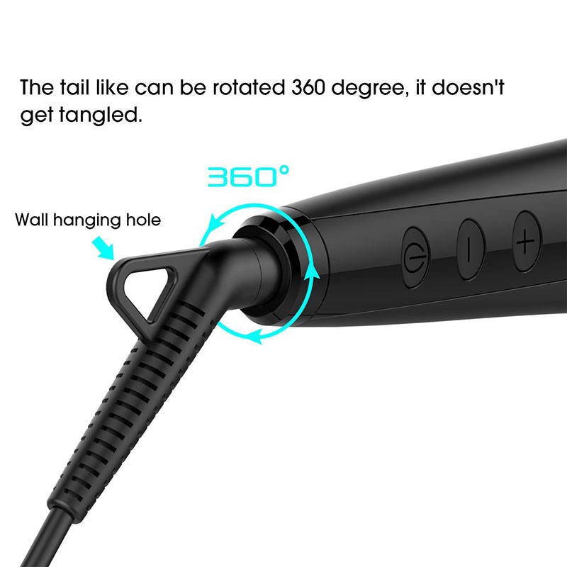 Ceramic Coating Hair Iron Straightener LCD Display Ceramic Coating Plate CE FCC Certification Hsi Professional Ionic Flat Iron Hair Straightener
