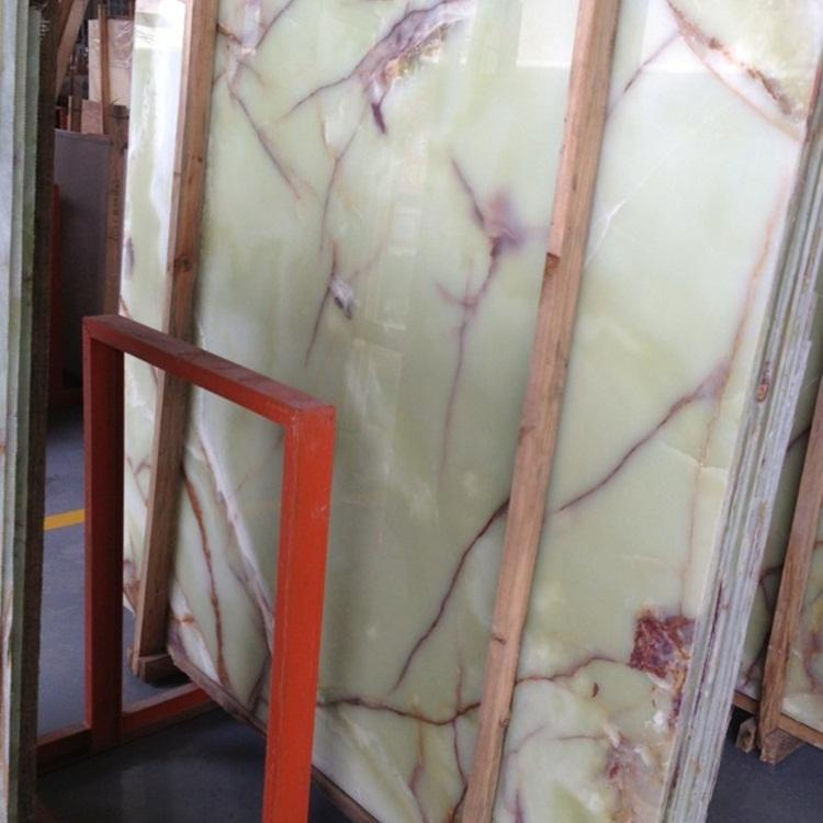 Jade Green Onyx Slabs And Tiles Natural Onyx Stone