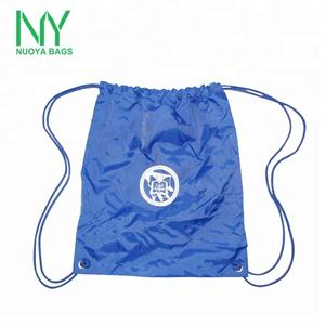 Cheap Wholesale Eco Friendly Recycle Promotional Nylon Sport Gym Backpack Non Woven Tote Drawstring Bag