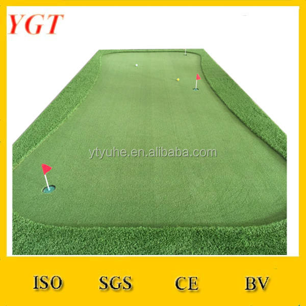 Golf Putting Mat/Arricciatura Golf Erba Artificiale/Mini Golf Putting Green