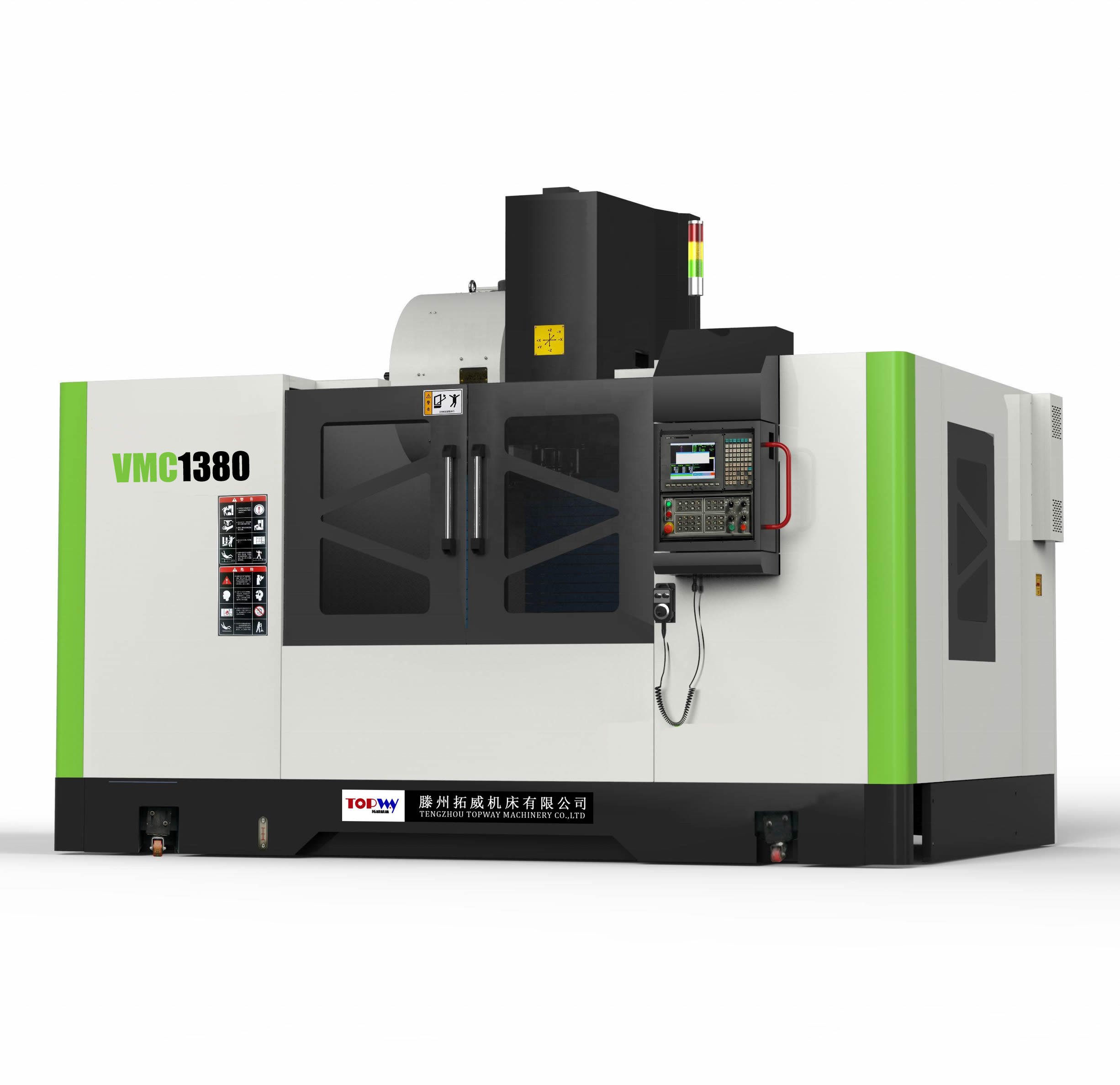 CE ISO Certificate CNC vertical mIlling tapping drilling machine center VMC1370 price