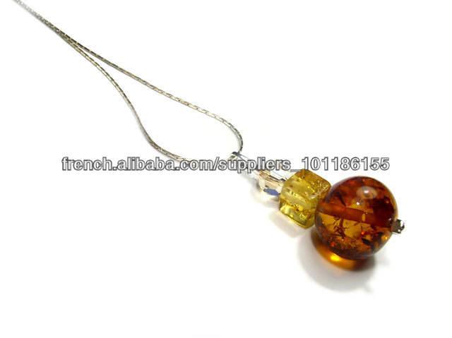 Argent 925 , pendentif , collier , bracelets , ambre, avec des éléments <span class=keywords><strong>Swarovski</strong></span> , boucles d'oreilles, des ensembles , des bijo