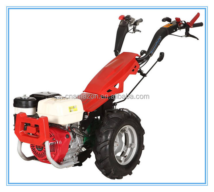 Hongyue 13HP two wheel tractor, gear drive, hydraulic clutch