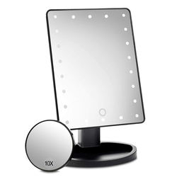 Cosmetic LED Mirror Makeup Vanity Lights USB Standing Table Make Up Mirror