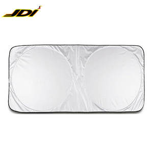 JDI-032 Wholesale custom design front window foldable car windshield sunshade for car