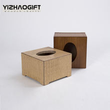 Popular Desktop Wooden Napkin Box for home suppliers
