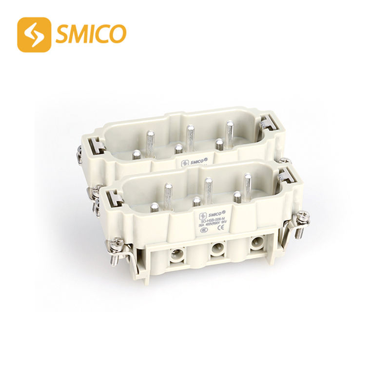 Whole set HSB-012 hoist crane control connector 12 Pins 35A 400V Heavy Duty electrical equipment