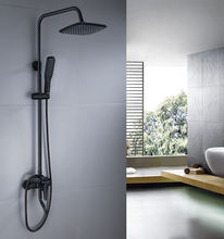 FAAO hot sale wall mounted bathroom bath rain shower set