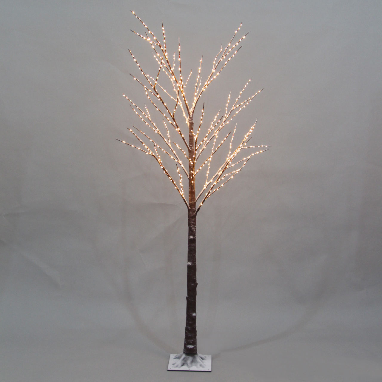 Led Micro Fairy Snow Twig Tree กลางแจ้ง Lighted Snowy Birch Tree