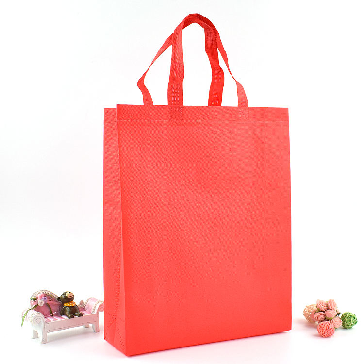 Promo Eco-friendly rope foldIng non woven shopping bag
